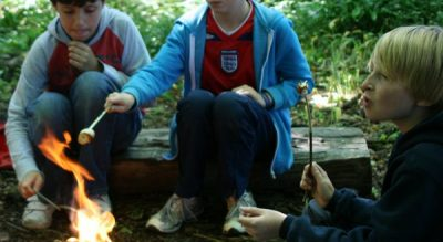 Leading, outdoor, learning